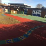 Wet Play porous macadam courts and Porous Rubber surfacing